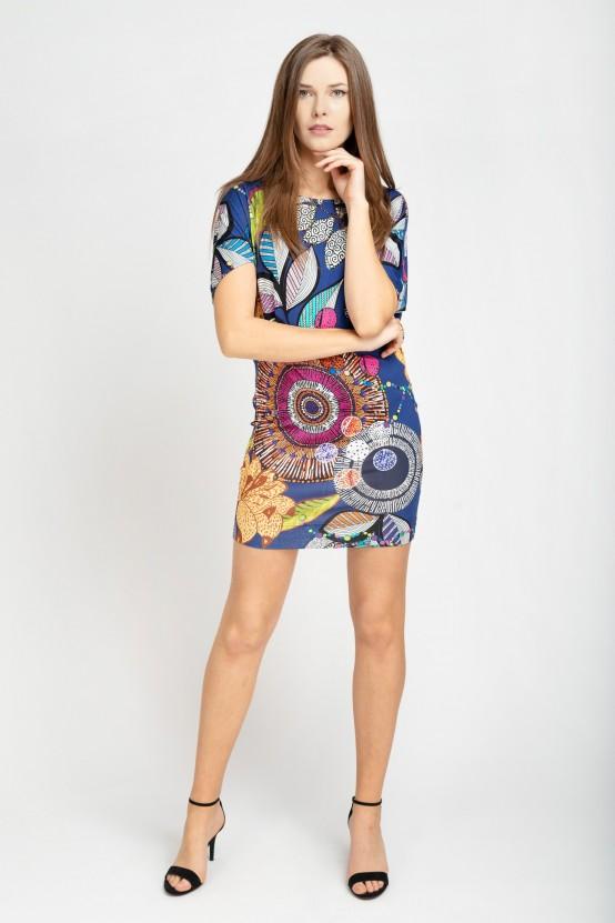 Kolorowa Sukienka LAVIA