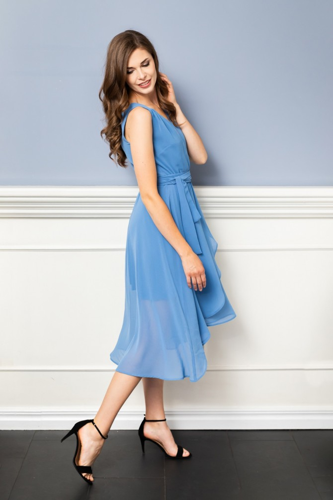 Szyfonowa sukienka MAKIRA