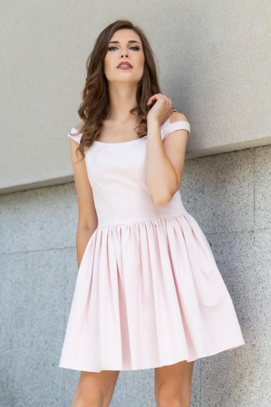 Rozkloszowana Sukienka ILZA