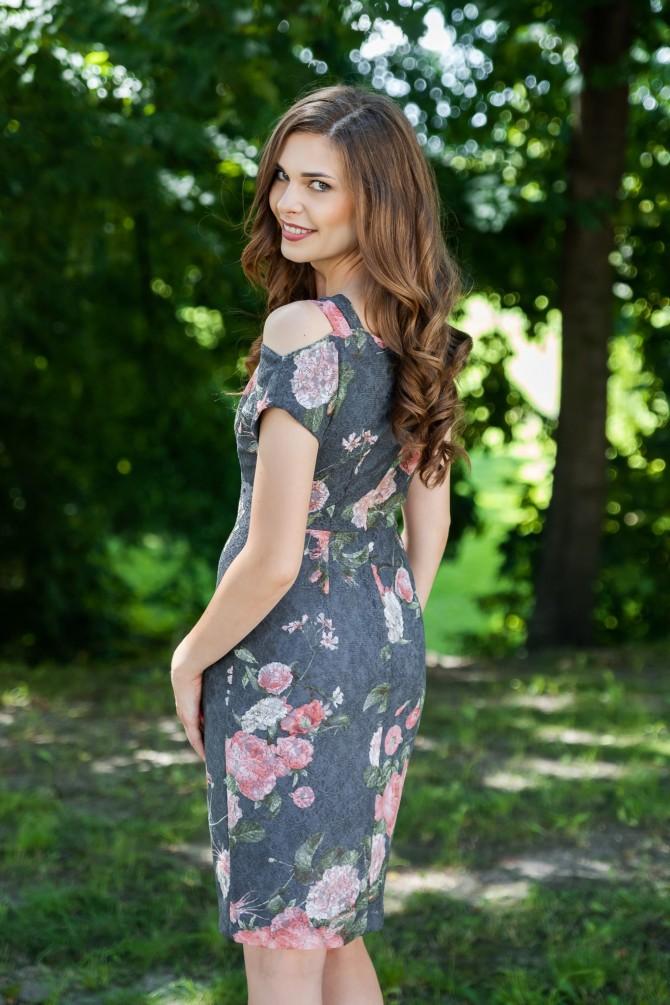 Koronkowa Sukienka NERIUM