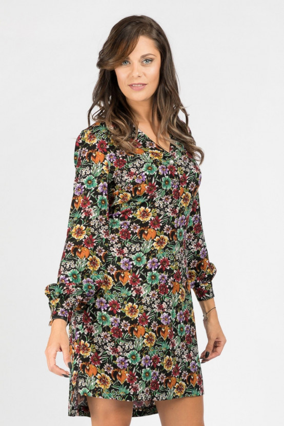 Sukienka w kwiaty MEYRA