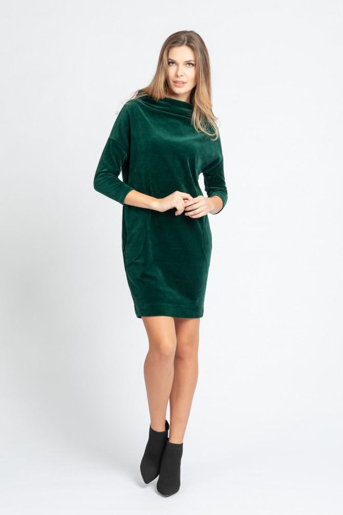 Welurowa Sukienka MOLLY