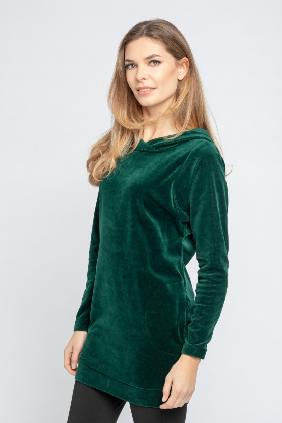 Welurowa Tunika ABBY DRESS