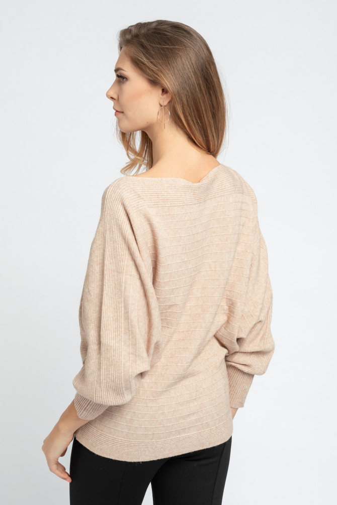 Sweter z kimonowym rękawem IVO