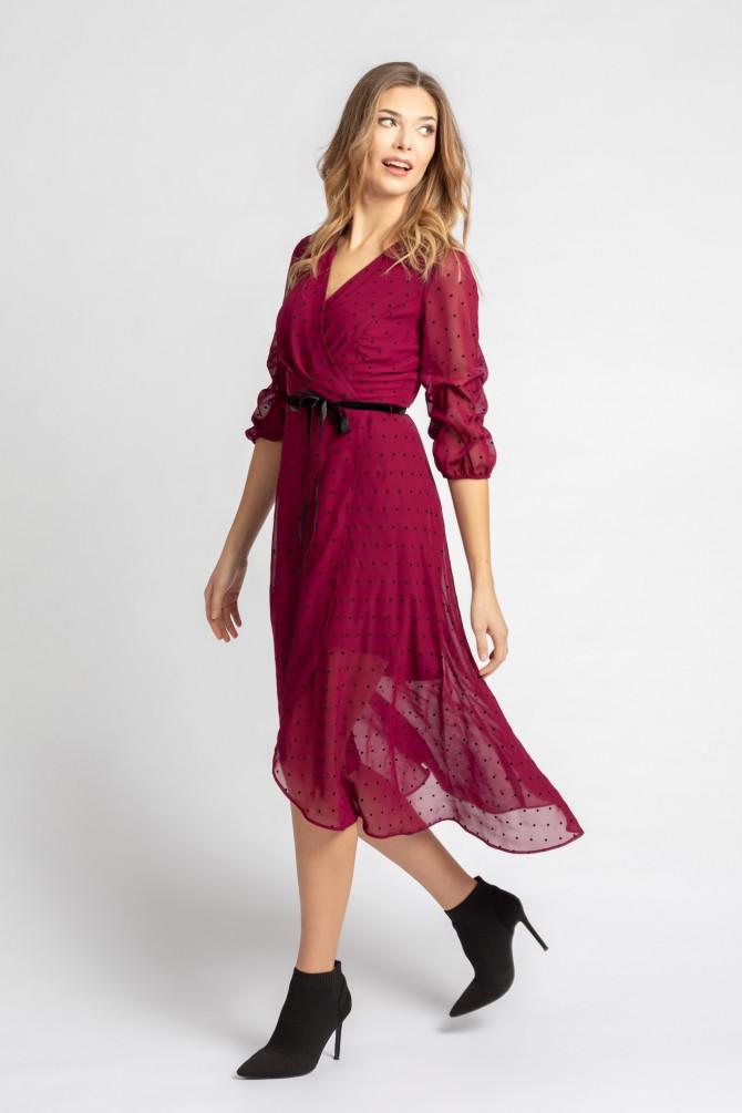 Sukienka w kropki ROSITA