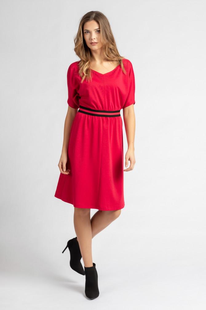 Dzianinowa Sukienka BEGONIA1