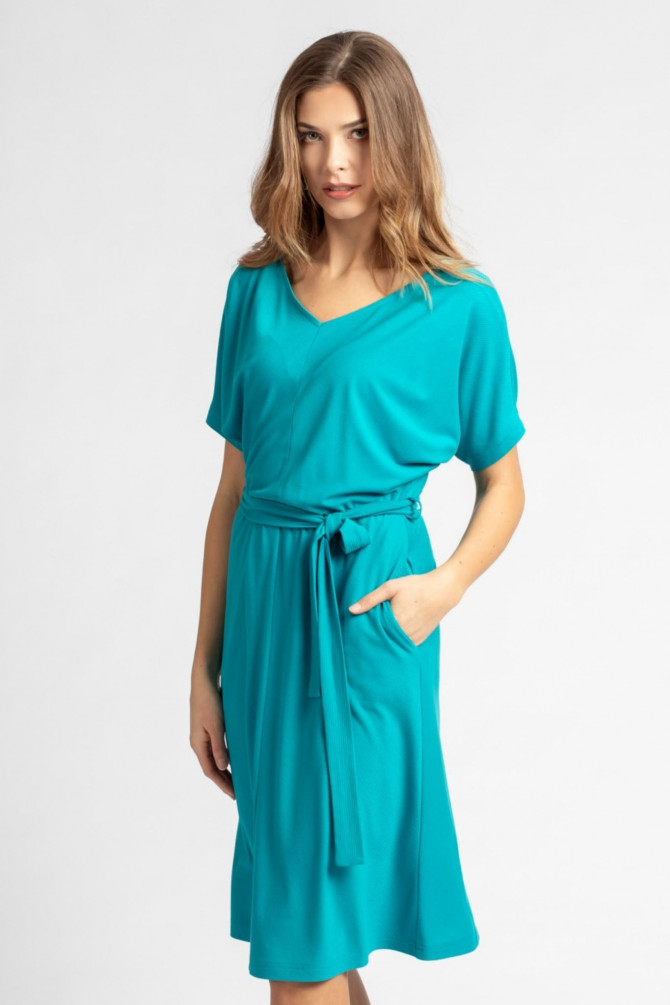Sukienka z paskiem BEGONIA1