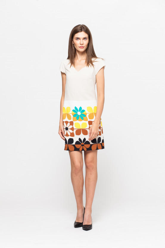 Sukienka FLORA1
