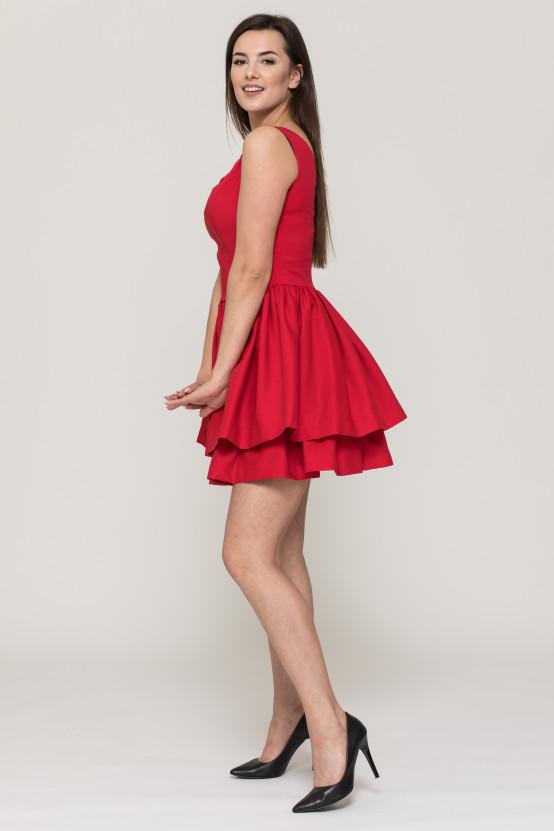 Sukienka z falbanami RAJA