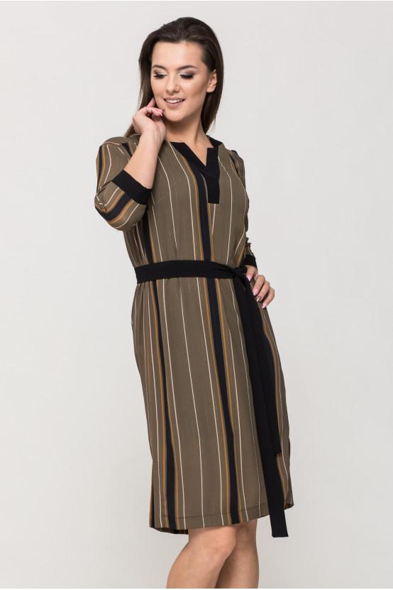 Sukienka z wiązaniem ELSI
