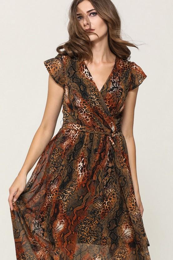 szyfonowa sukienka DENEBA1