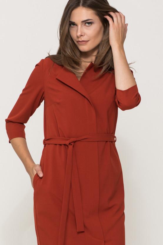 Sukienka z wiązaniem VESA