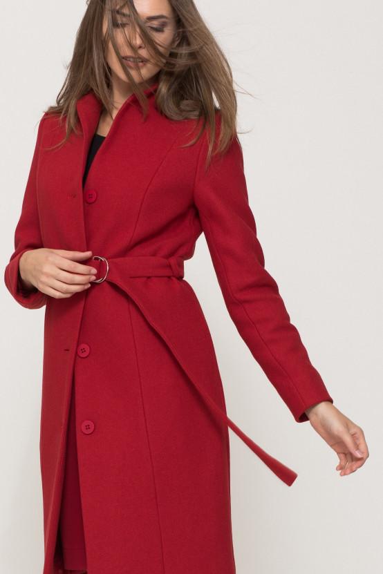 Czerwony płaszcz BENITO