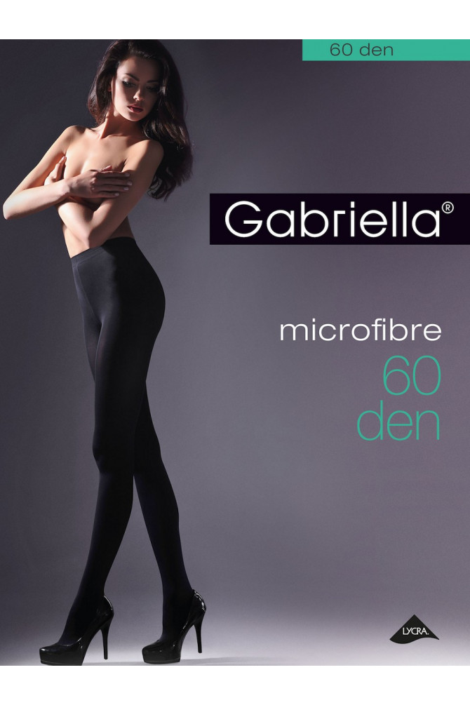 MICROFIBRE 60 den czarny