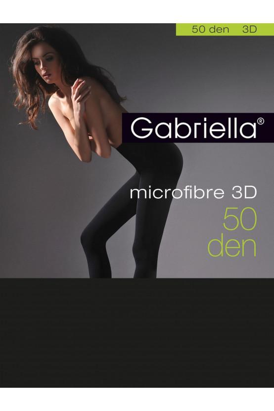 MICROFIBRE 3D 50 den czarny