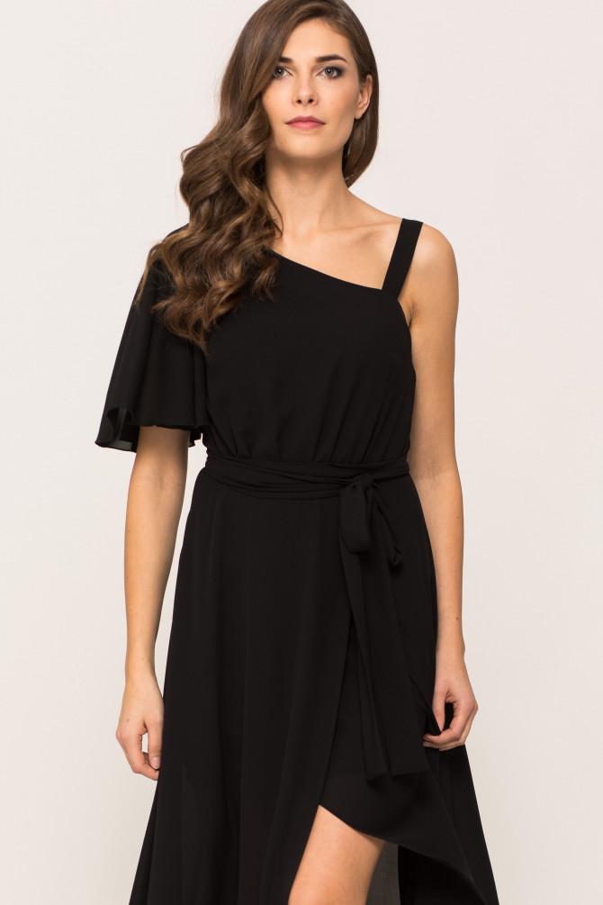Szyfonowa Sukienka EGERIA
