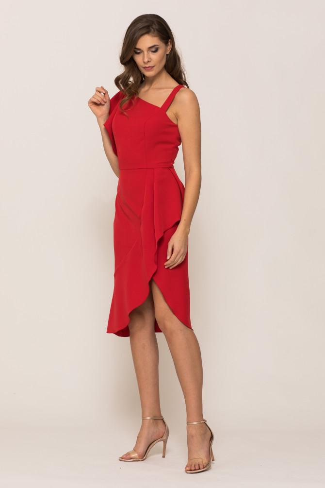 Asymetryczna Sukienka ATALIA