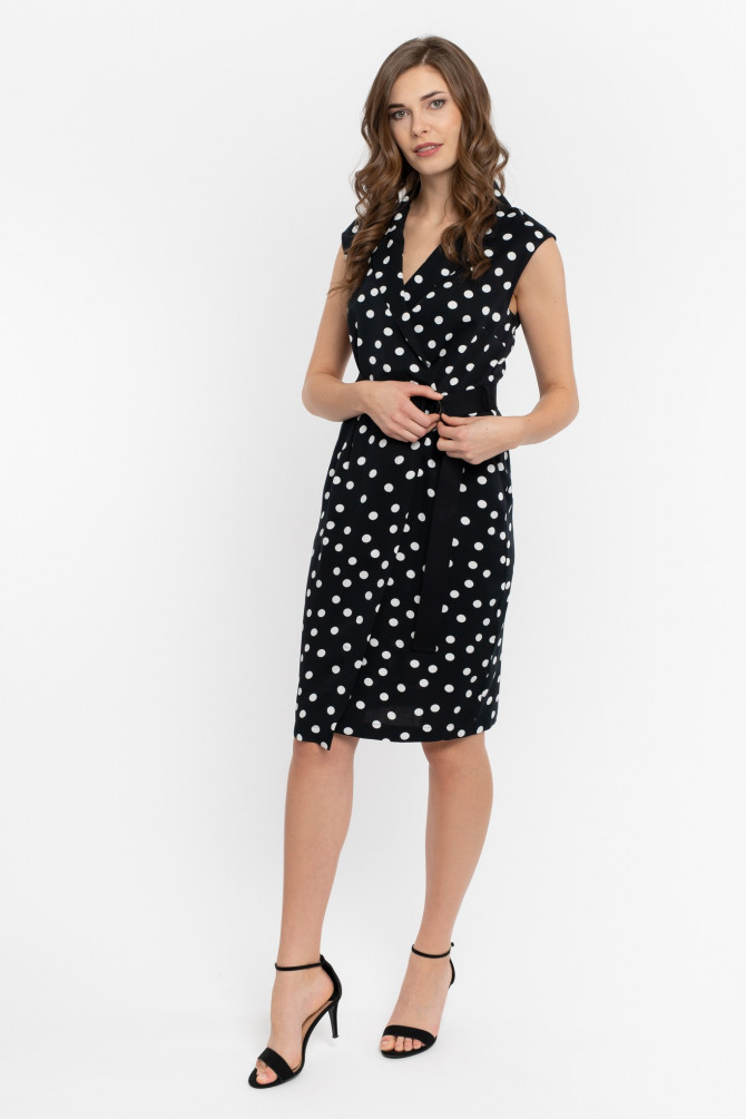 Sukienka z wiskozy ALUNA1