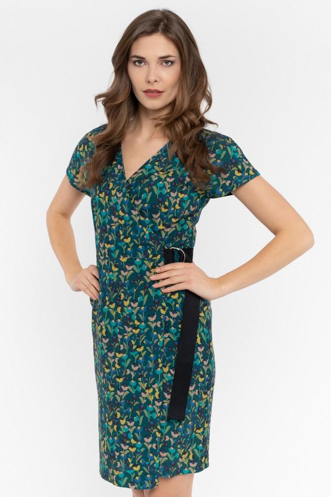 Sukienka z wiskozy MONTANA