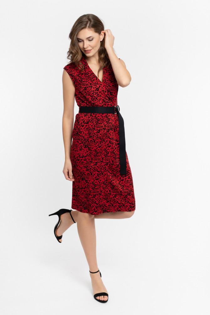 Sukienka w cętki ALUNA1