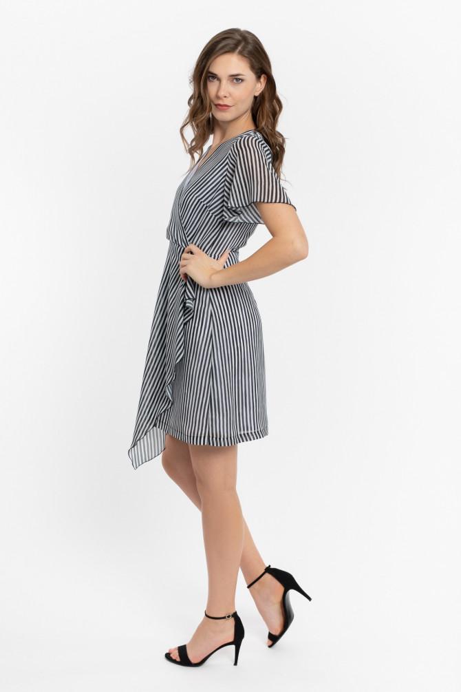 Sukienka w paski GANZA