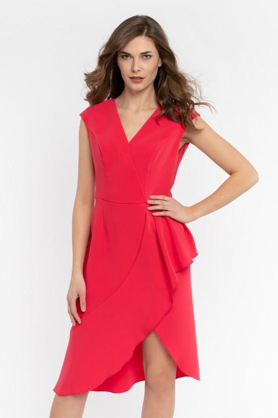 Asymetryczna Sukienka OMBRELLA