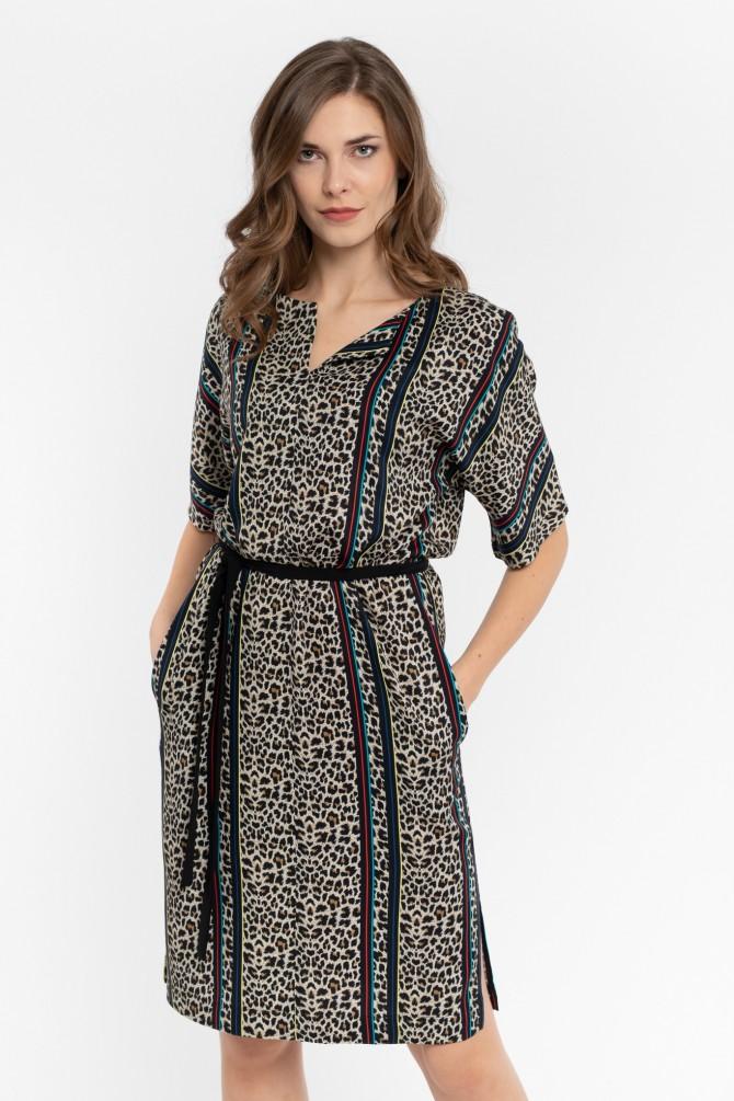 Luźna Sukienka OPIUM