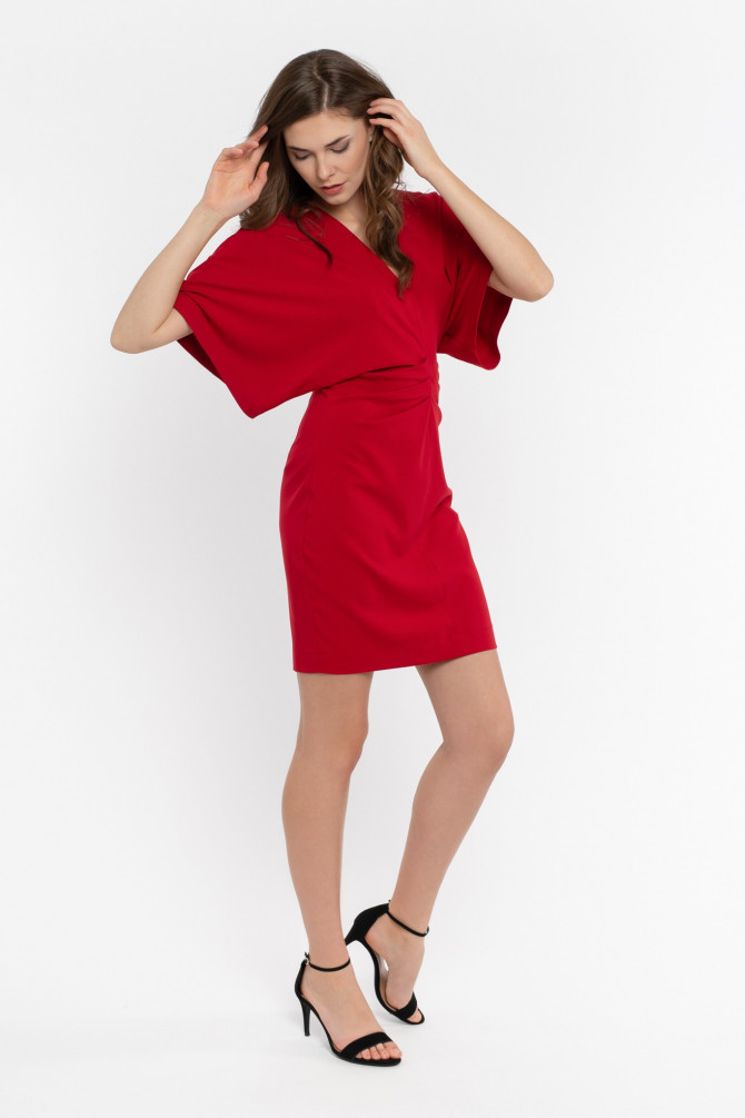 Sukienka z rękawem kimono KOTI