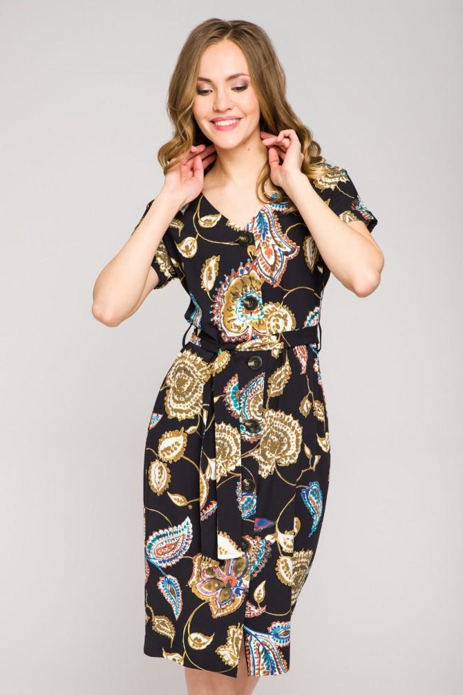 Sukienka z guzikami RAMONA