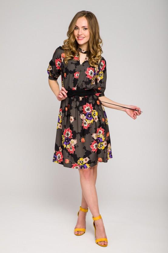 Wzorzysta Sukienka HILAL