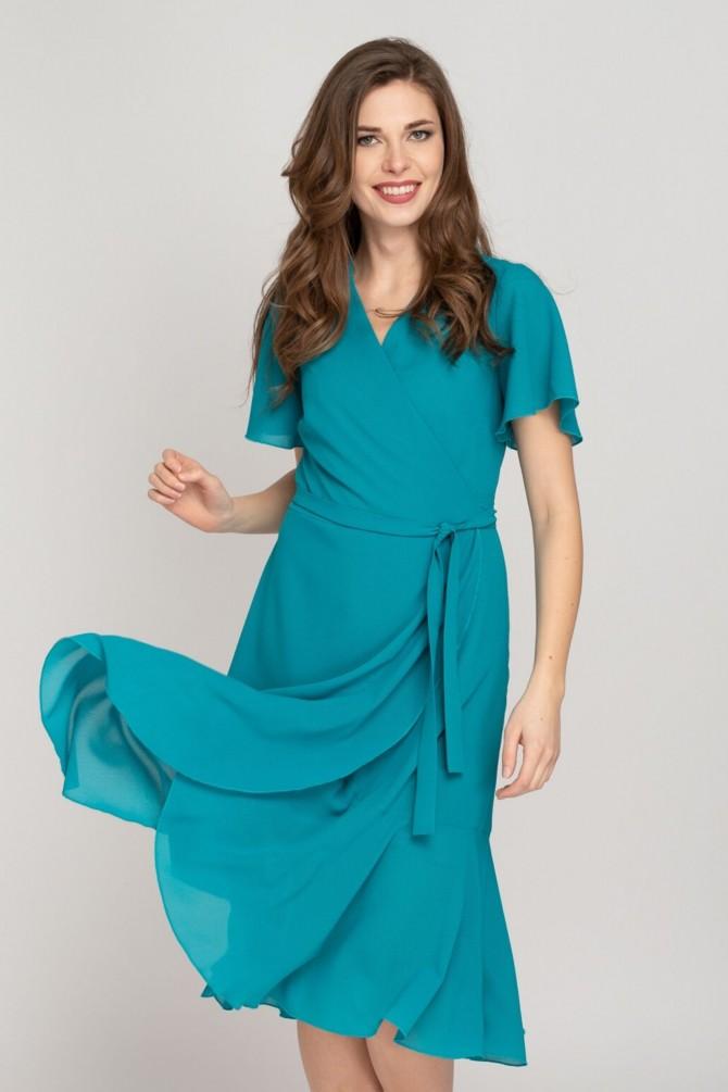 Sukienka kopertowa ETTA