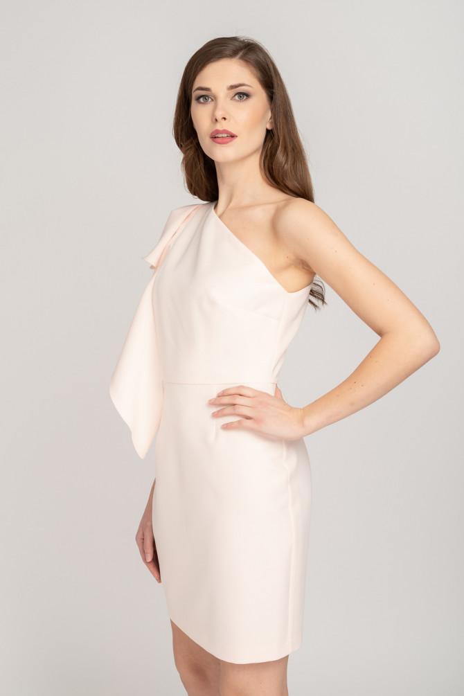 Sukienka na jedno ramię SALTA