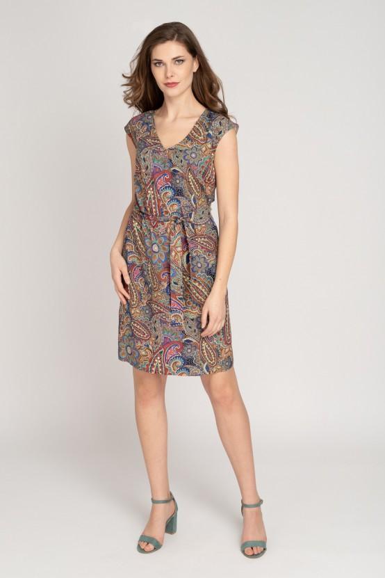 Kolorowa sukienka SEVE