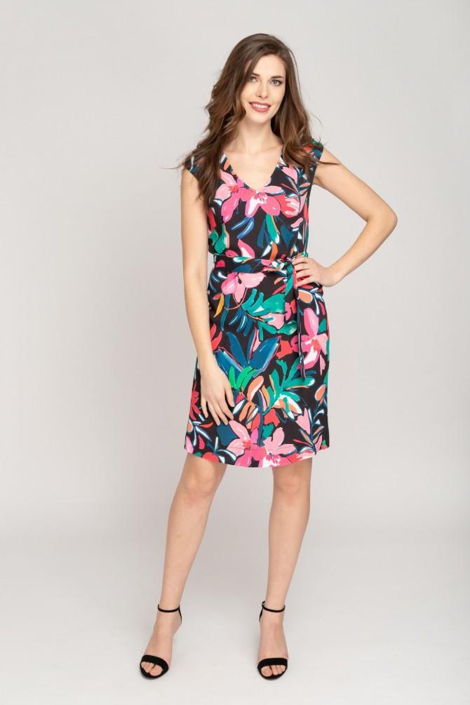 Sukienka w kwiaty SEVE