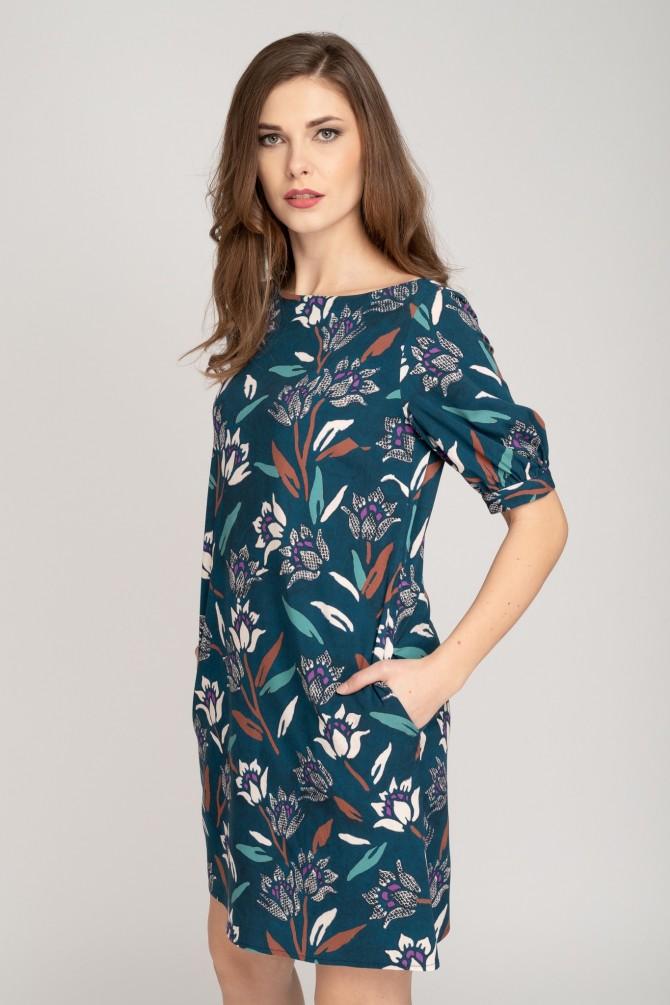 Kolorwa Sukienka ALEF