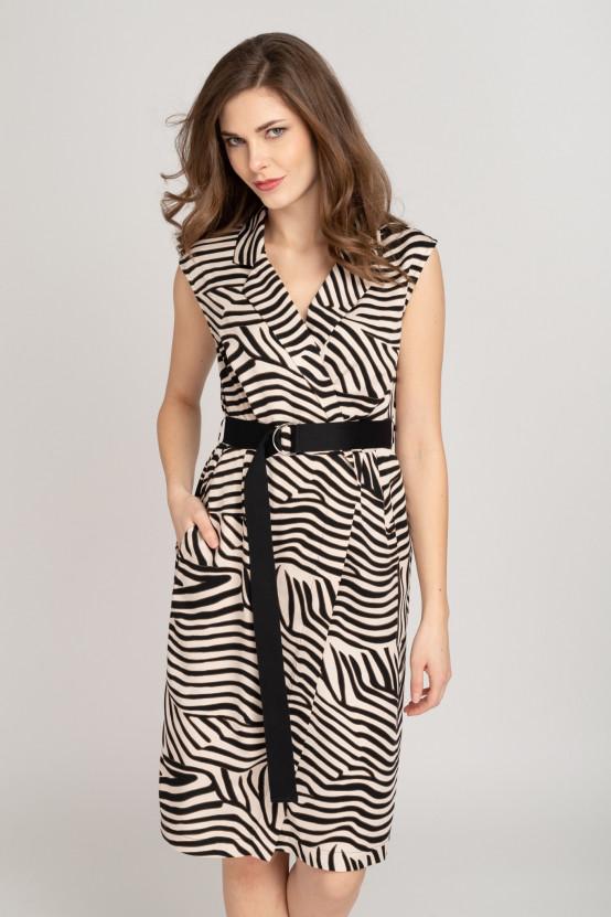 Wiskozowa Sukienka ALUNA1